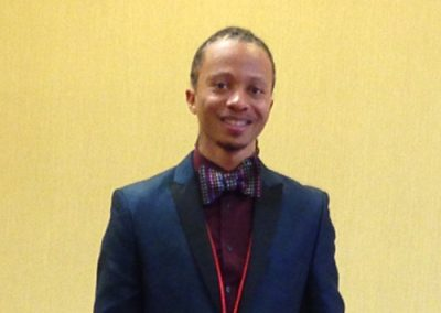 Mac J. at the National Association of African American Studies Conference